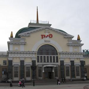 Железнодорожные вокзалы Большого Солдатского